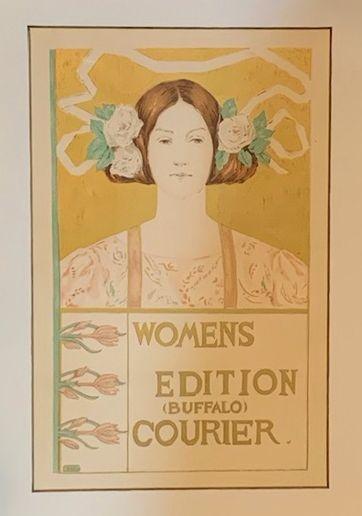 "Alice R. Glenny, ""Womens Edition"",1897 Original Maitre de l'Affiche"