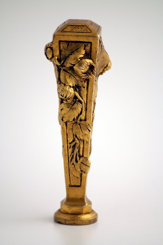 Art Nouveau Bronze Wax Seal