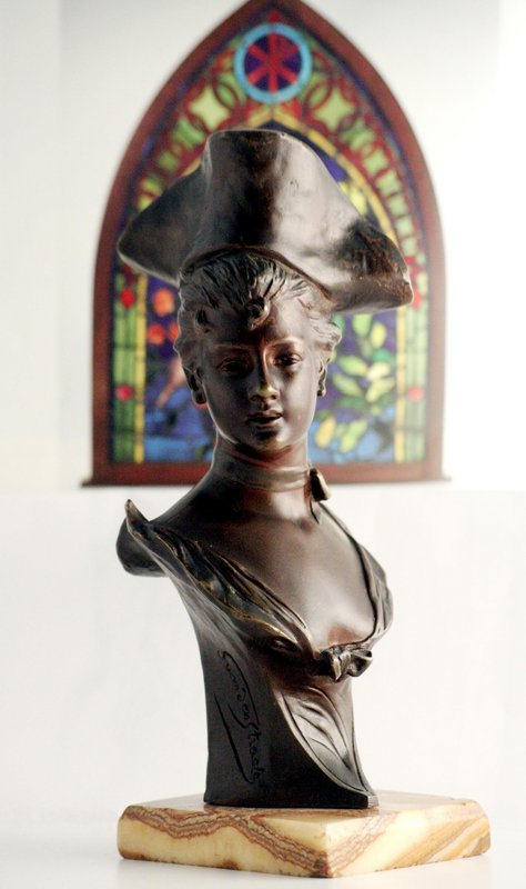Art Nouveau Bronze - Van Der Straeten