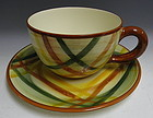 Vernon Kilns Colossal Tea Cup Soup Tureen Homespun