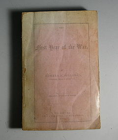 Edward Pollard Civil War Book, Review of First Year