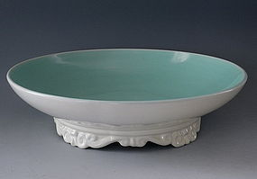 Large Franciscan Catalina Serving Bowl Console Dish