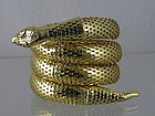 Vintage Snake Serpent Arm Bracelet, Whiting Davis
