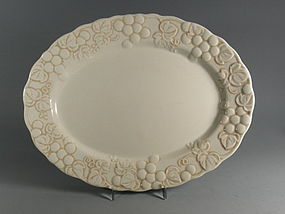 Large Metlox Antique Grape Serving Platter, Mid Century