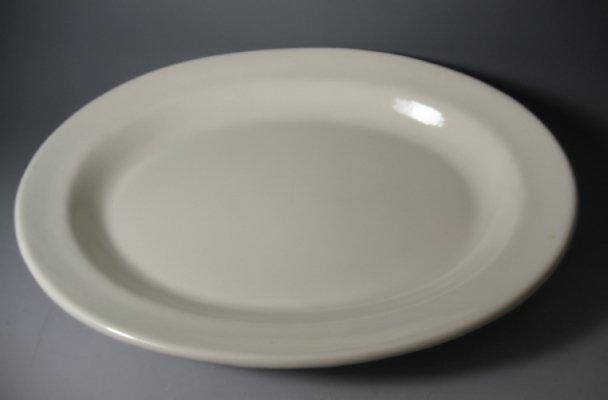 Extra Large Metlox Whitestone Serving Platter Vernon