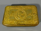 World War 1 Princess Mary 1914 Brass Christmas Tin