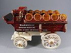 Metlox Poppytrail Pottery Budweiser Beer Wagon