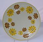 RARE Vernon Kilns Gale Turnbull Blossoms Plate