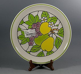 4 Metlox California Poppytrail Tiffany Dinner Plates