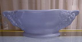 Metlox Blue Mission Bell Ram's Head Bowl Planter