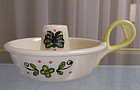 Vintage Metlox Poppytrail Happy Time Candle Holder