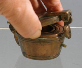 Gold Measuring Weight Set Nuremberg Bronze 18th C