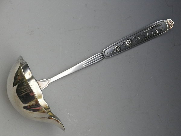 Swedish Mid-Century Punch Ladle Lily of the Valley