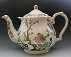 Huge Indian Tree English Display Buffet Teapot Sadler