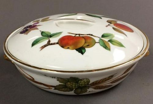 Royal Worcester Evesham Gold Entree Dish and Lid
