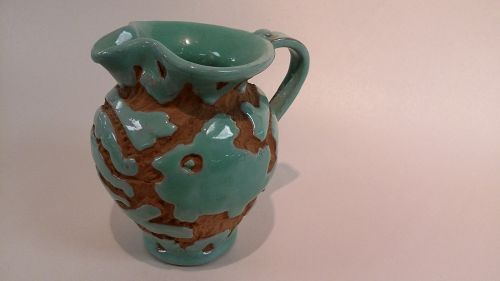 The Pleasant Valley Sgraffito Carved Italian Pitcher
