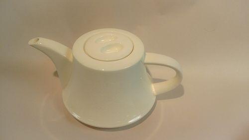 Mid Centry Modern Porcelain Teapot