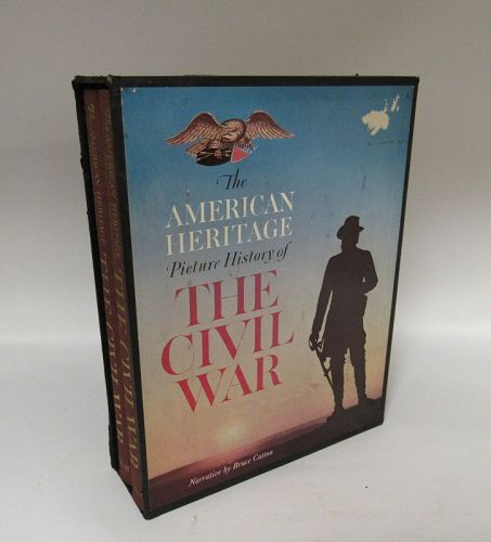 Civil War American Heritage Two Volume Set, 1960