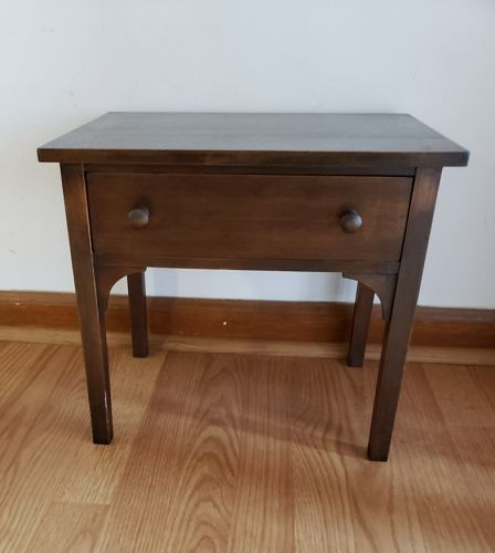 Miniature Salesman Sample Wood Table or Writing Desk for Showroom