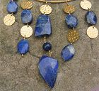 LAPIS LAZULI NECK RING NECKLACE