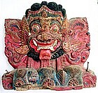 Wood Carving from Bali