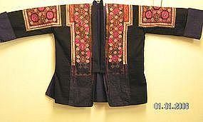 Festive Miao Embroidered Jacket