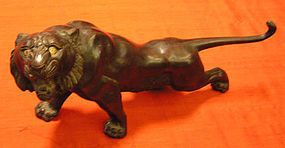 JAPANESE BRONZE TIGER