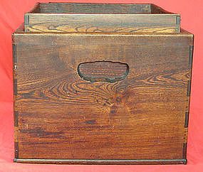 Japanese Wood Hibachi Box