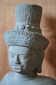 Vishnu Stone Statue  from Cambodia