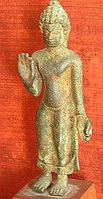 Thai Bronze Buddha Statue