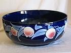 "Shelley lustre bowl ""Japanese Fruit"" pattern 8677."