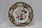 Spode hand coloured and gilded plate pattern 3071