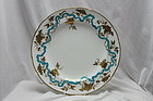 Minton plate with raised gilding