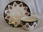 Royal Worcester cup and saucer pattern W 6153