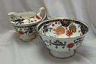 Shelley sugar bowl and milk jug Ashbourne pattern. Pattern 8524