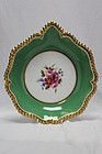 Royal Worcester dish painted by Ernest Phillips