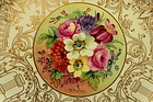 Royal Worcester plate painted by William Hale