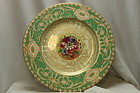 Royal Worcester plate hand painted by William Hale