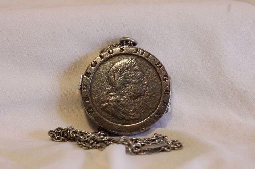 1797 cartwheel penny locket