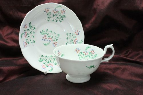 Verreville bone china cup and saucer