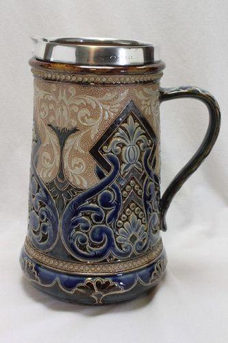 Doulton Lambeth jug by Eliza Simmance