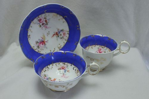 Minton hand painted trio pattern 2297