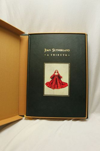 Signed Dame Joan Sutherland limited edition tribute book
