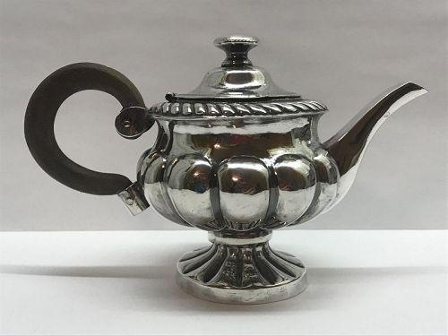 Early 19th Century Italian Silver Tea or Coffee Pot, Naples c. 1832-35