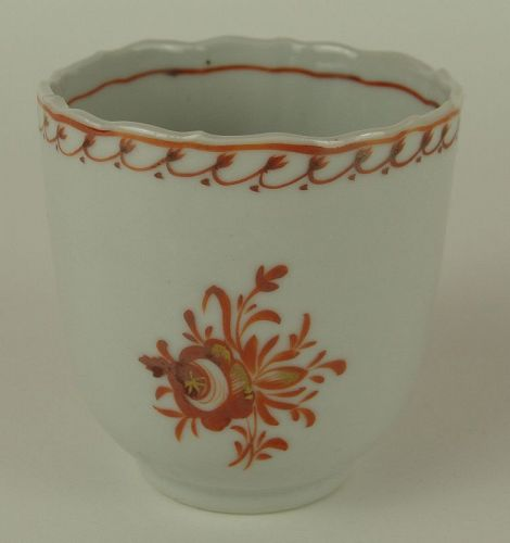 Lovely Chinese Export Coffee Cup, Circa 1780