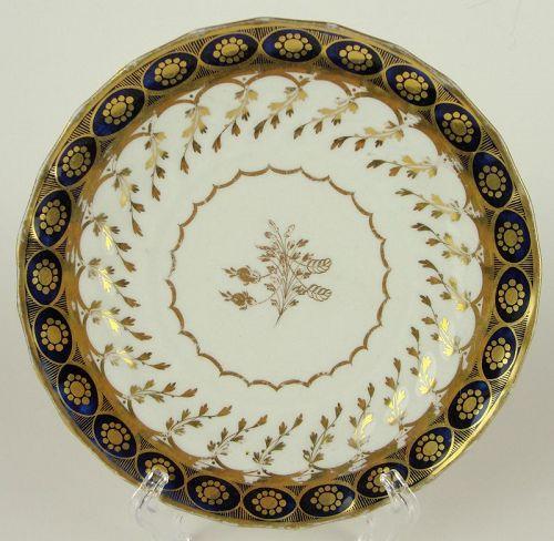 Chamberlain's Worcester Small/Dessert Plate, Pattern 61, Ca. 1795-1800