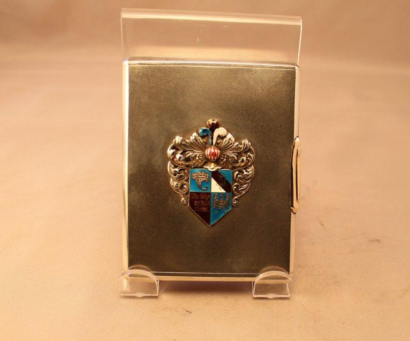 Vintage Russian Silver cigarette Case.