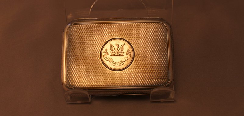 Antique English Victo,Silver Cigarette Case
