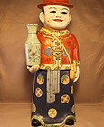 Large Chinese Republic Period Porcelain Figure