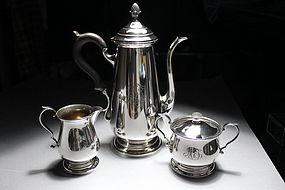 Redlich & Company Sterling Silver Tea Set.